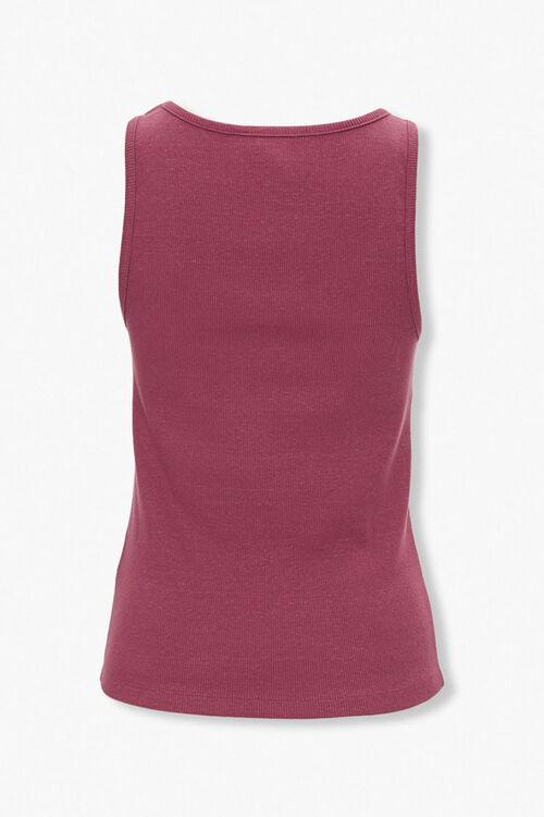Ribbed Knit Tank Top, image 3