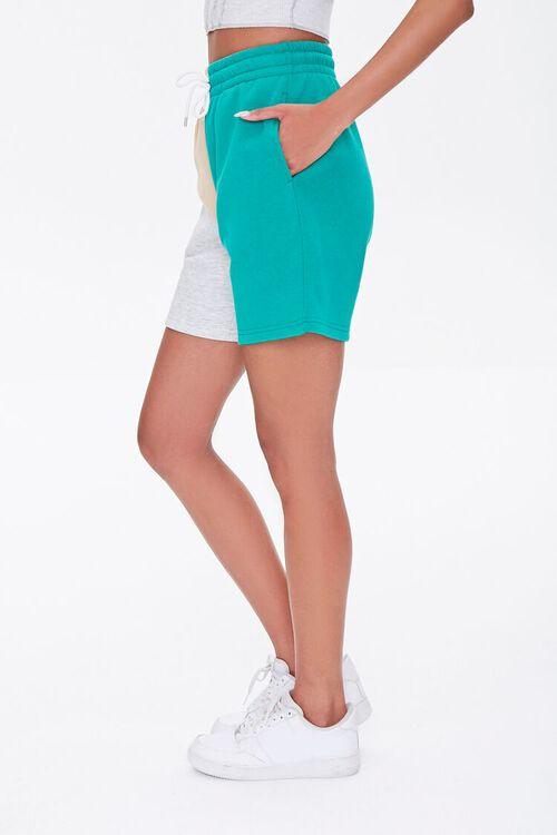 Fleece Colorblock Sweatshorts, image 3