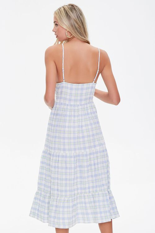 Plaid Cami Midi Dress, image 3