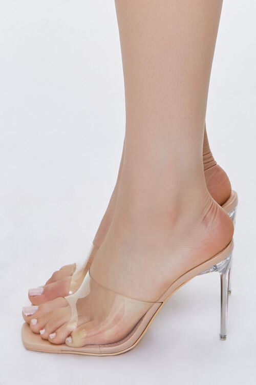 Translucent Lucite Stiletto Heels, image 2
