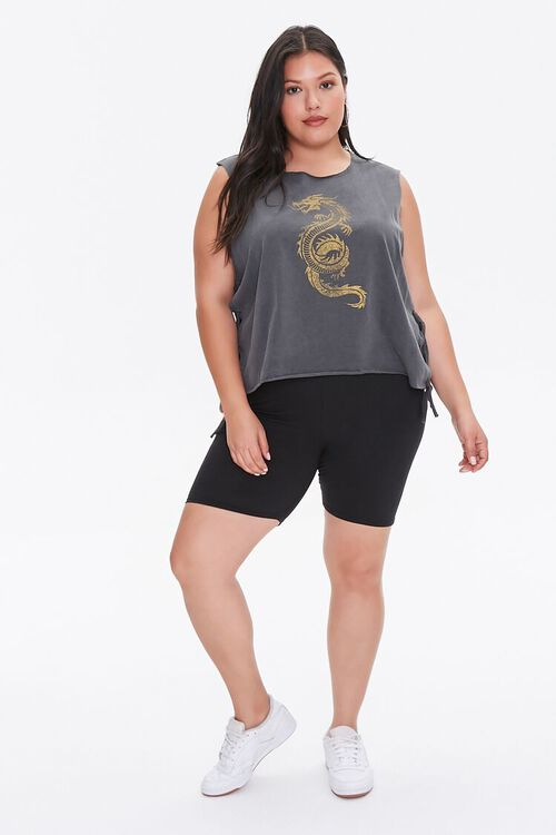 Plus Size Dragon Muscle Tee, image 4