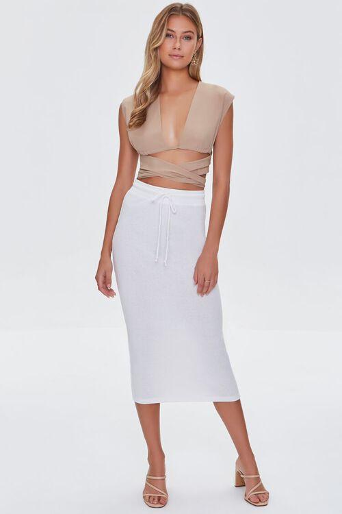CREAM Fitted Drawstring Skirt, image 5