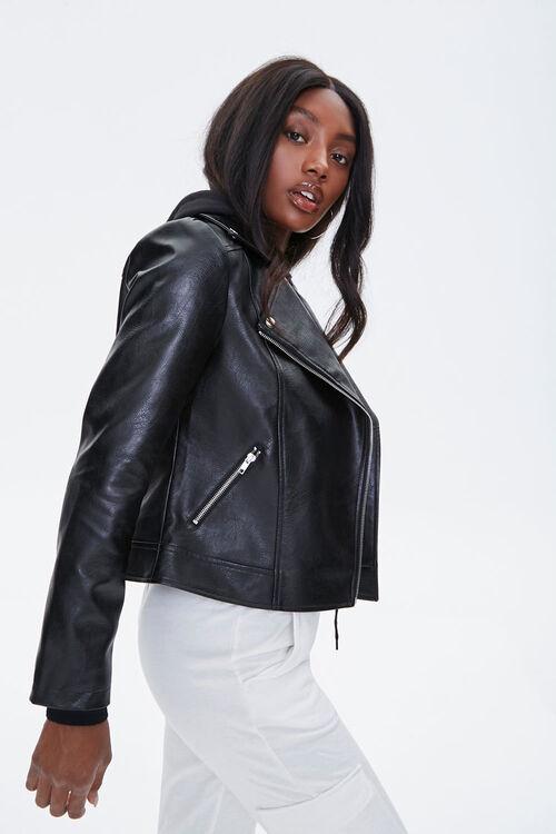 Hooded Moto Jacket, image 2