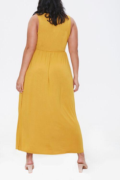 Plus Size Sleeveless Maxi Dress, image 3