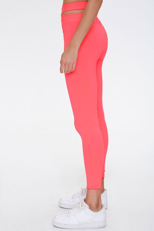 Active Crisscross Cutout Leggings, image 3