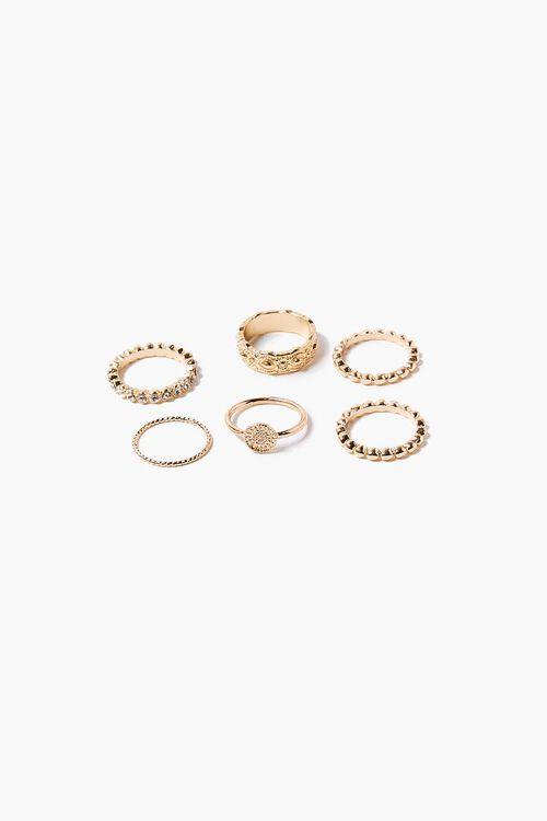 Textured Ring Set, image 1