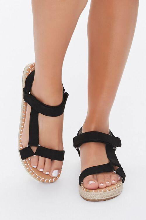 Caged Espadrille Flatform Sandals, image 2
