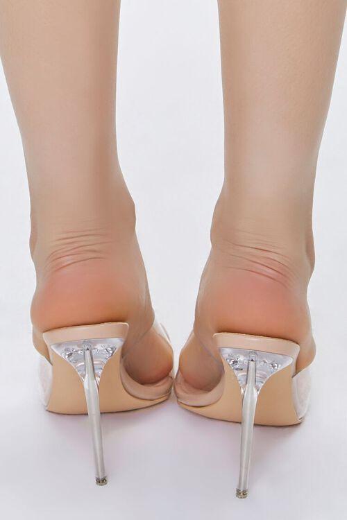Translucent Lucite Stiletto Heels, image 3