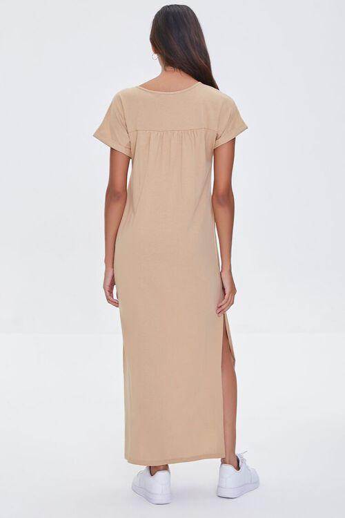 SAND Side-Slit Maxi Dress, image 3