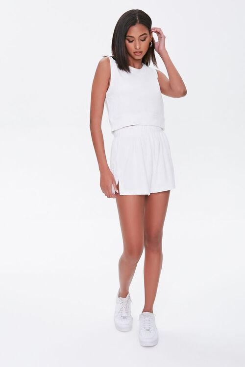 Kendall & Kylie Terrycloth Elastic Shorts, image 5