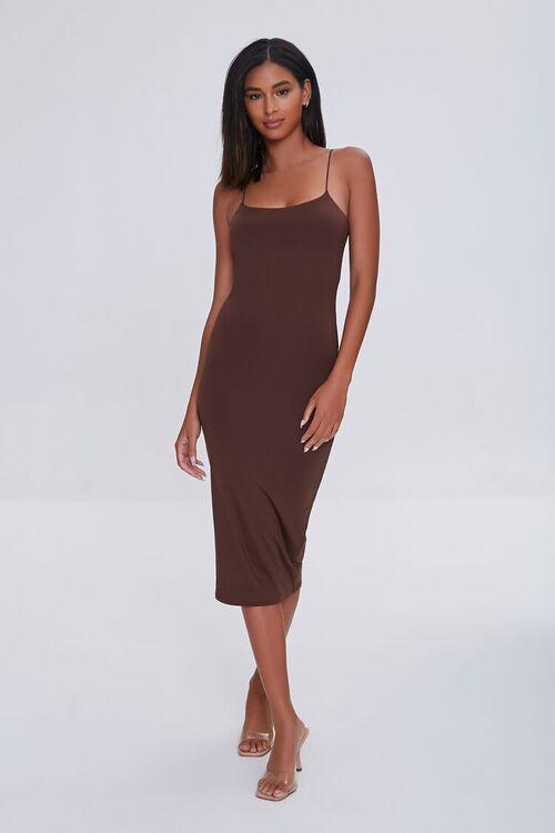 Midi Cami Bodycon Dress, image 2