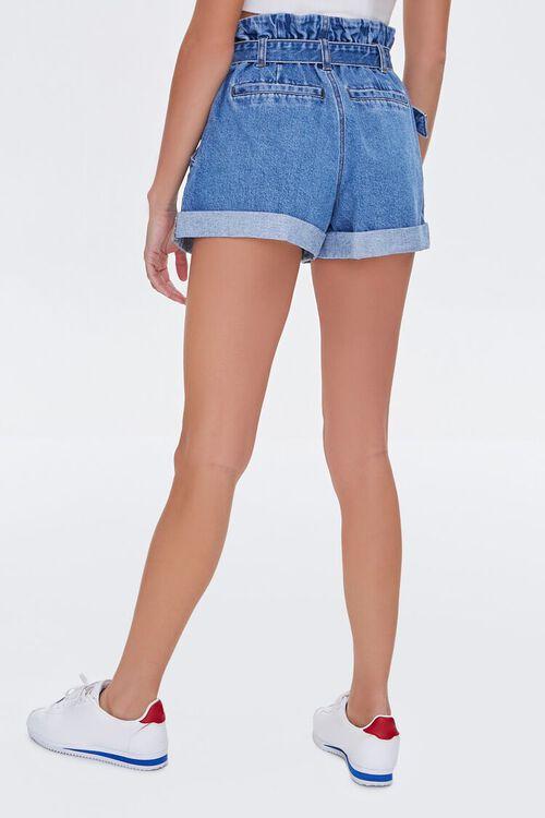 Denim Paperbag Shorts, image 4