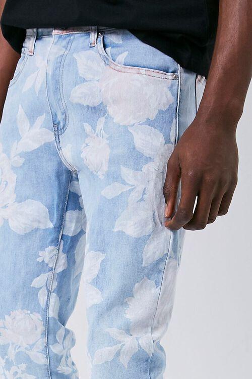 Rose Print Skinny Jeans, image 5
