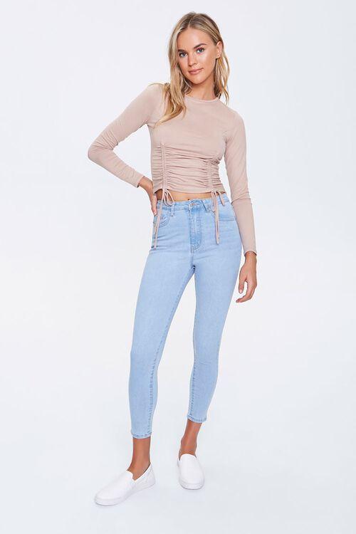 Petite Skinny High-Rise Jeans, image 1