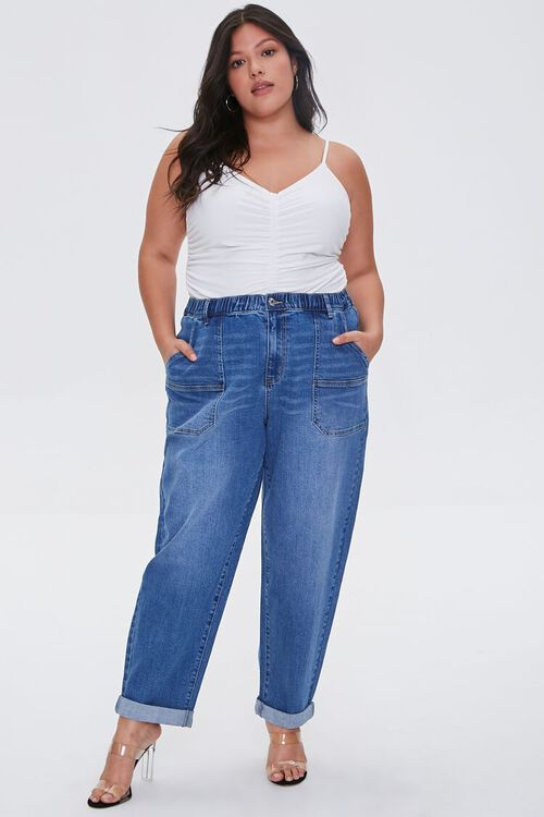 Plus Size High-Rise Mom Jeans, image 5