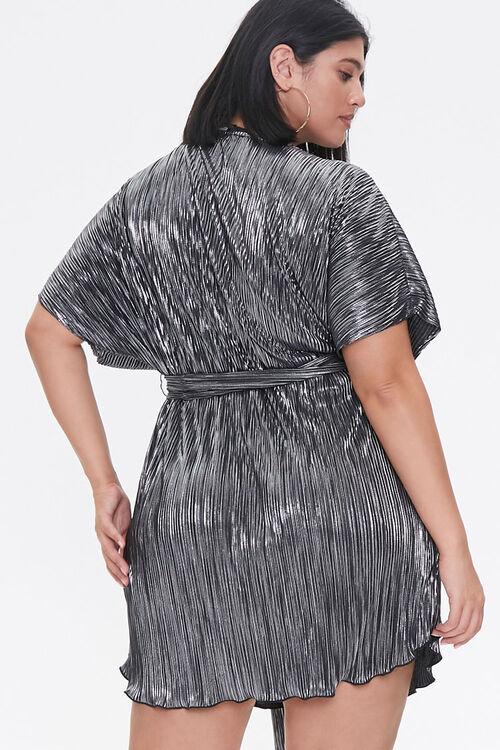 Plus Size Metallic Dolman Dress, image 3