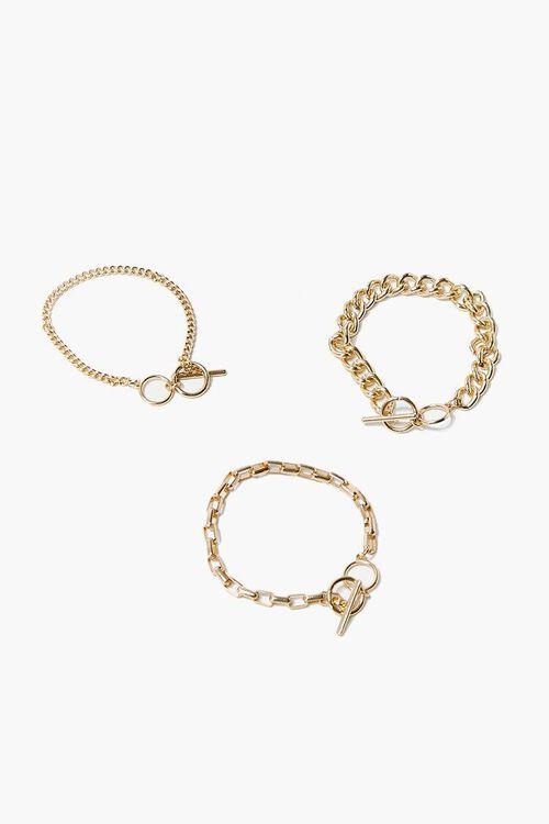 Toggle Chain Bracelet Set, image 1