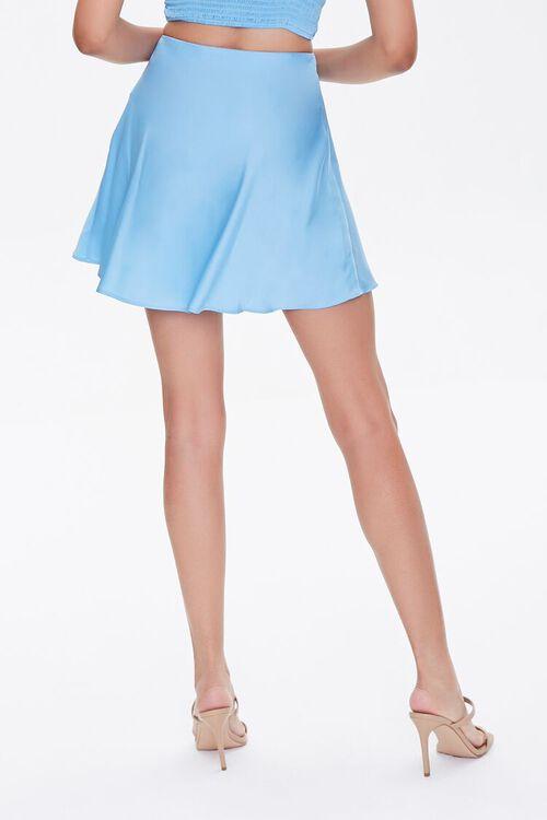 BLUE Skater Mini Skirt, image 4