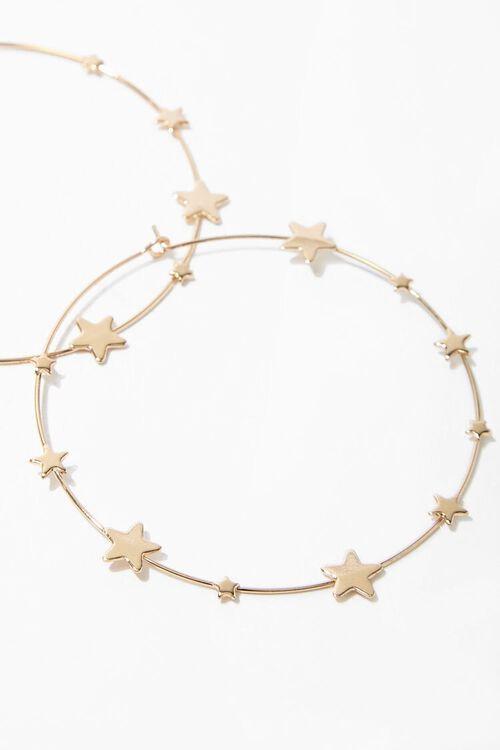 Star Hoop Earrings, image 3