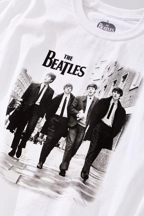 WHITE/BLACK The Beatles Graphic Tee, image 3