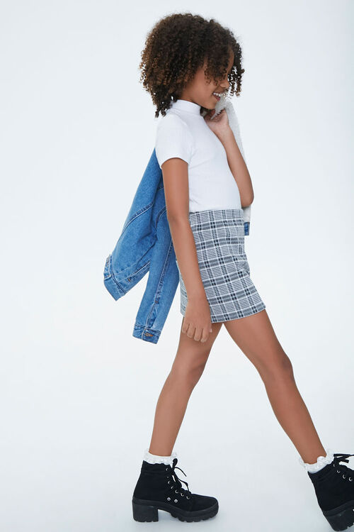 Girls Plaid Skirt (Kids), image 5
