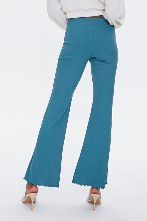 Tie-Waist Flare Pants, image 4