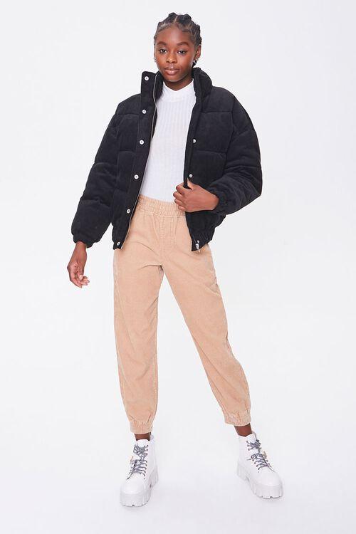 Corduroy Puffer Jacket, image 4