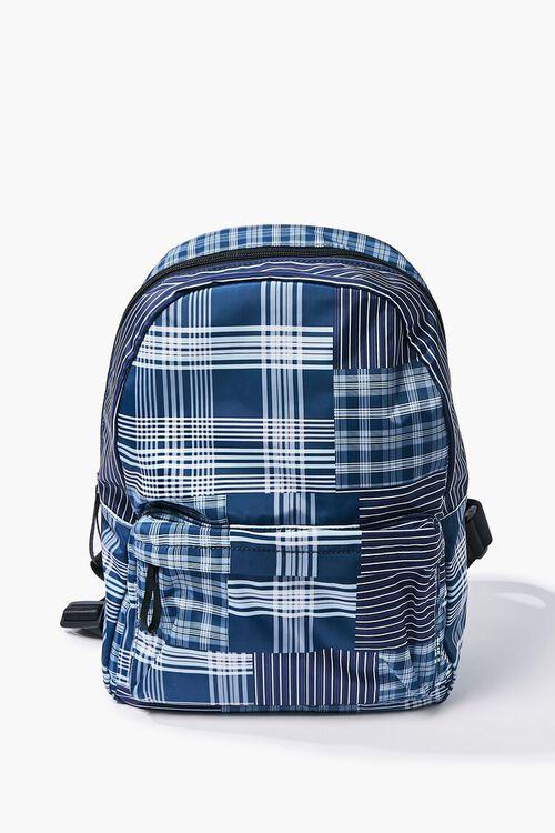 Large Plaid Backpack, image 1