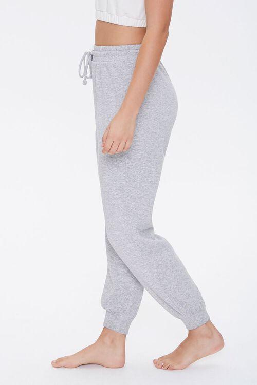 HEATHER GREY French Terry Pajama Joggers, image 3