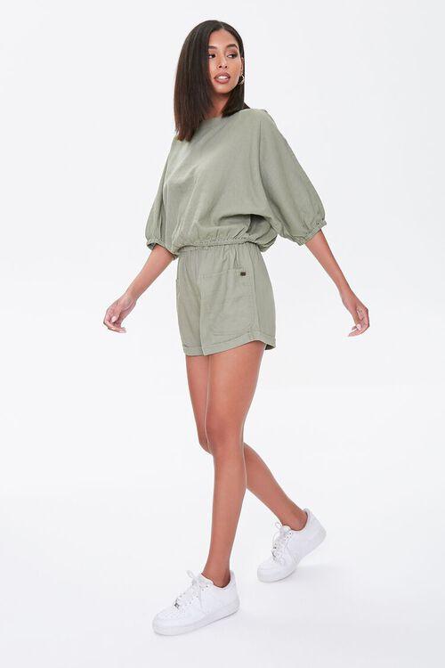 Kendall & Kylie Linen-Blend Shorts, image 5