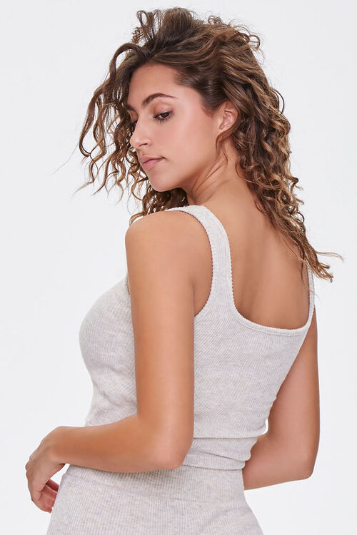 Ribbed Cropped Tank Top, image 3