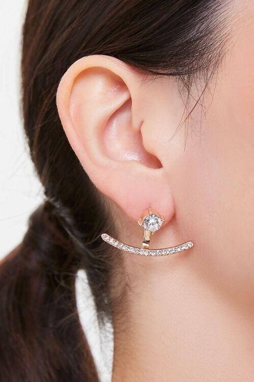 Rhinestone Ear Jacket, image 1