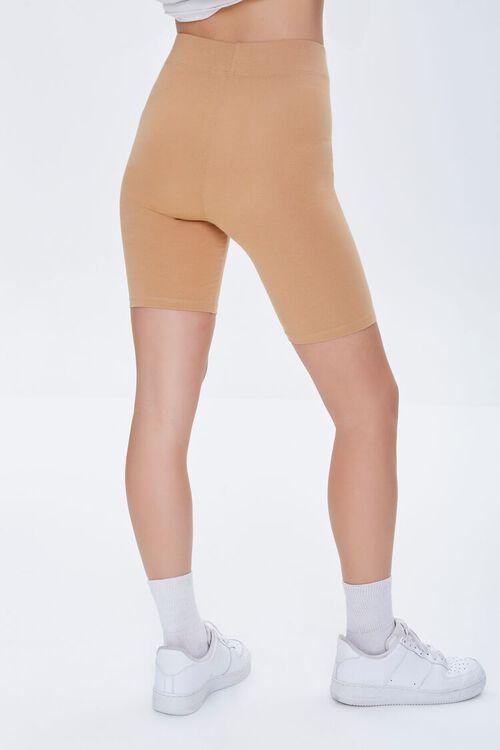 CAMEL Basic Organically Grown Cotton Biker Shorts, image 4