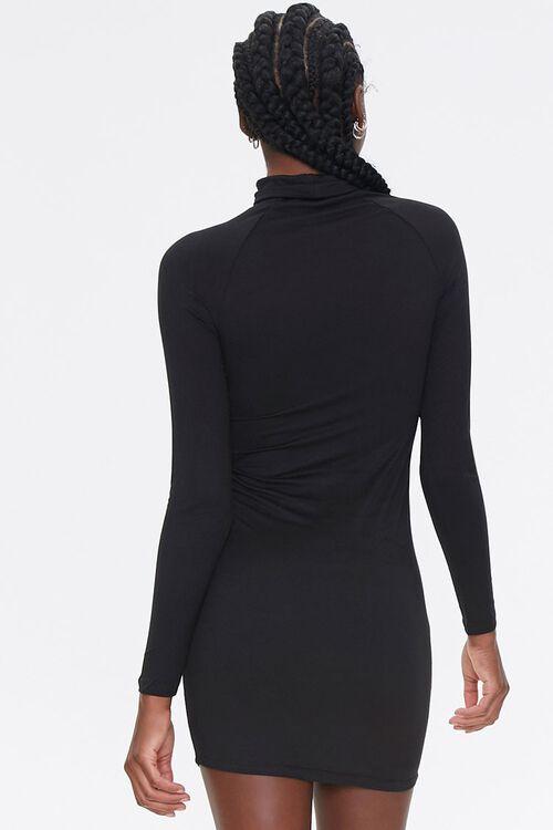 Turtleneck Bodycon Dress, image 3