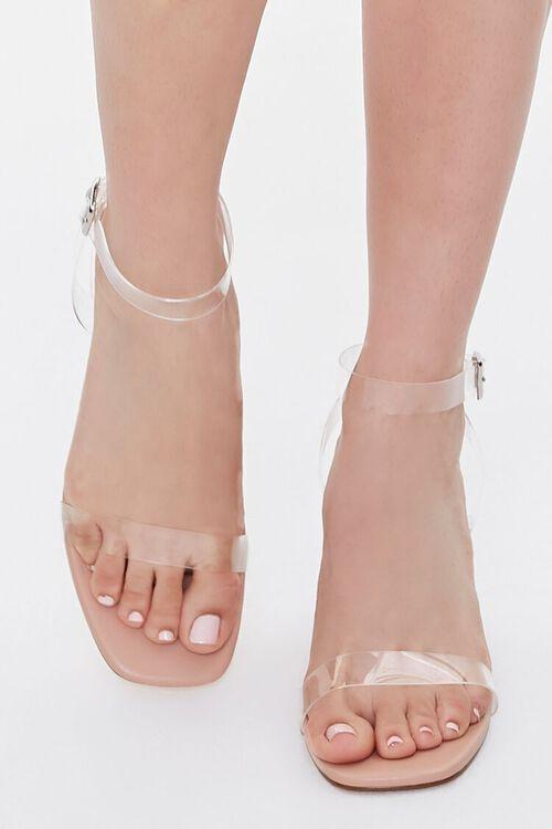 Transparent-Strap Block Heels, image 4