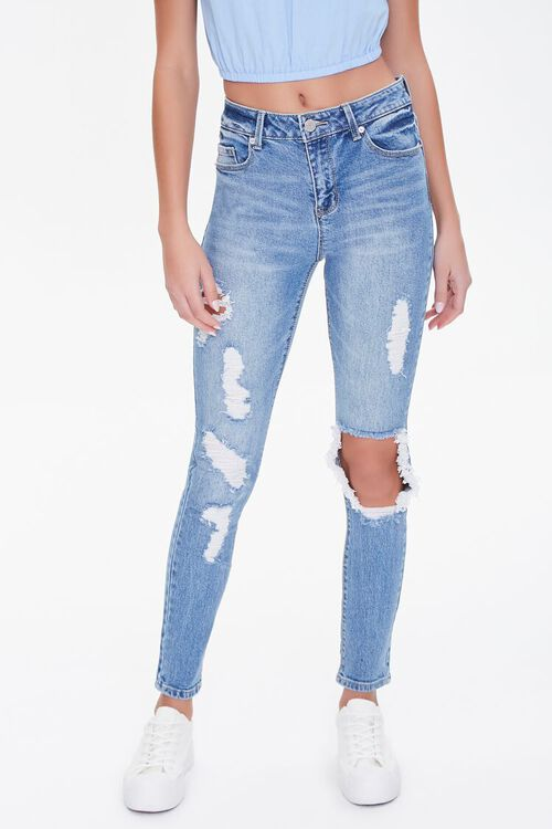 Recycled High-Rise Skinny Jeans, image 2