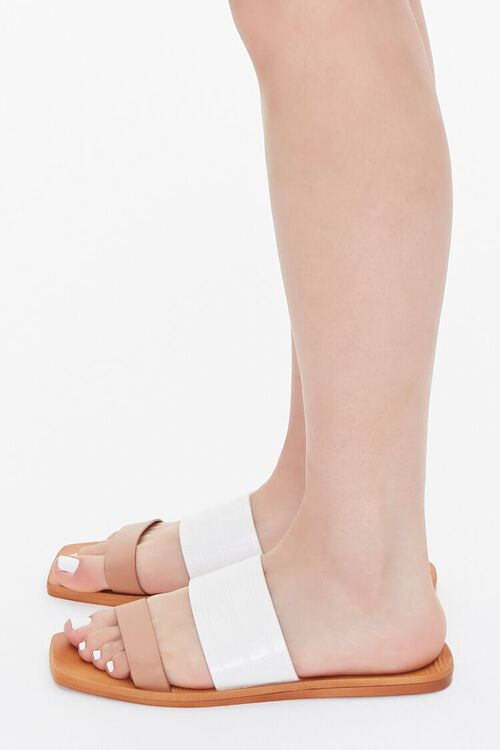 Square Dual-Strap Sandals, image 2