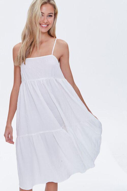 Textured Flounce Cami Dress, image 1