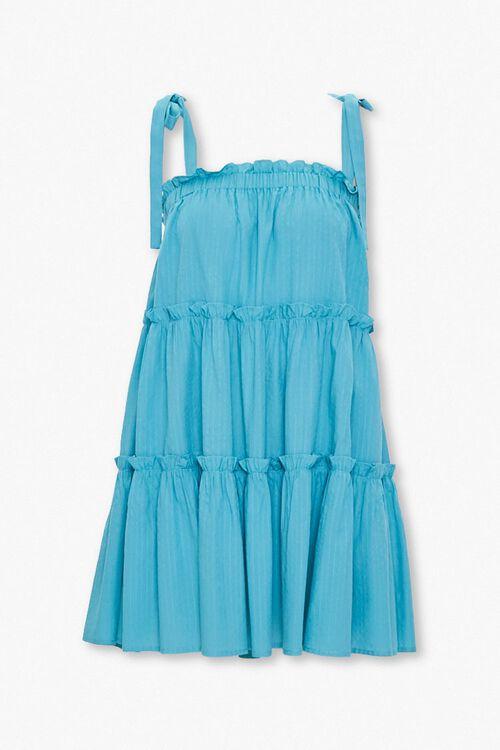 Tiered Shift Mini Dress, image 1