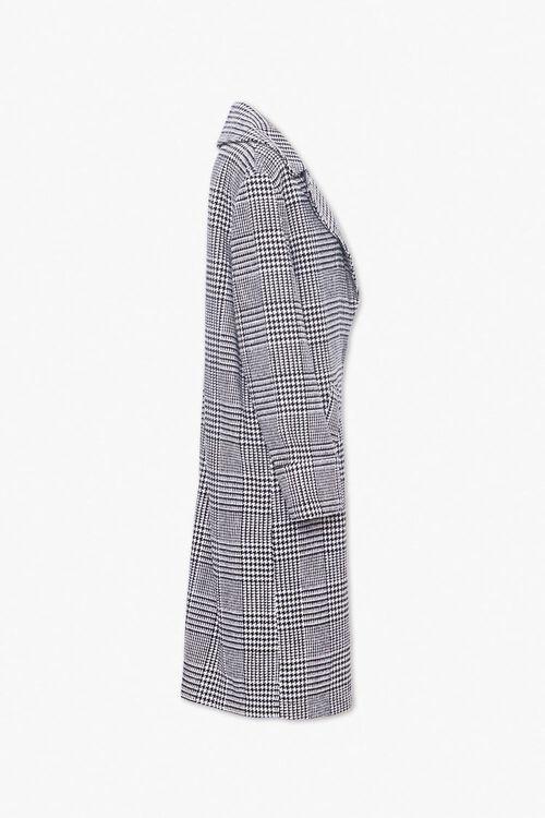 Glen Plaid Longline Coat, image 2