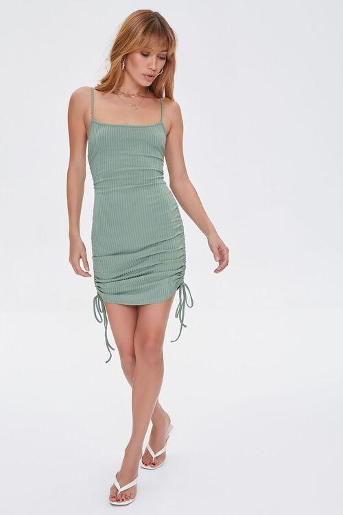 Drawstring Cami Mini Dress, image 4