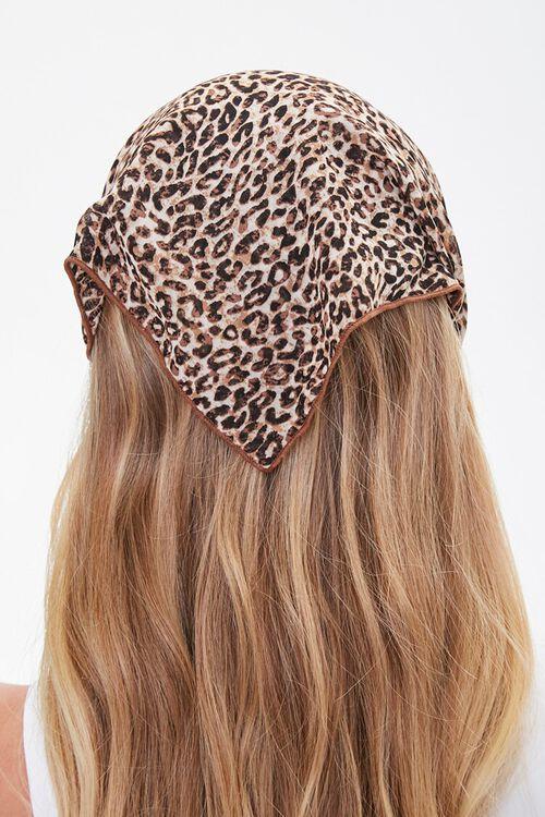 Leopard Print Headwrap, image 2