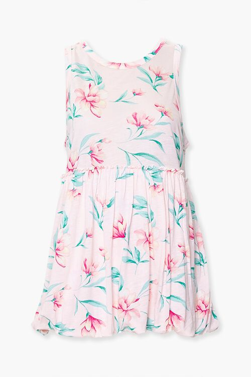 Tropical Floral Sleeveless Top, image 1