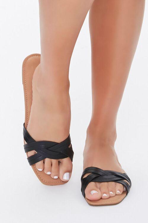 Braided Crisscross Sandals, image 2