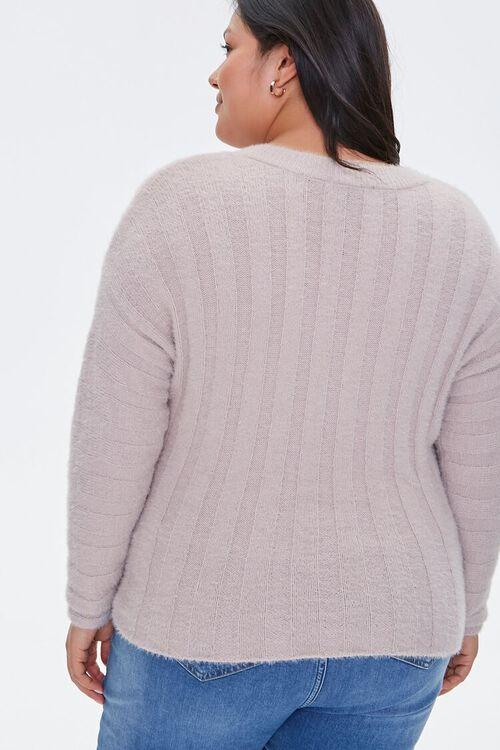 Fuzzy Knit Sweater, image 3