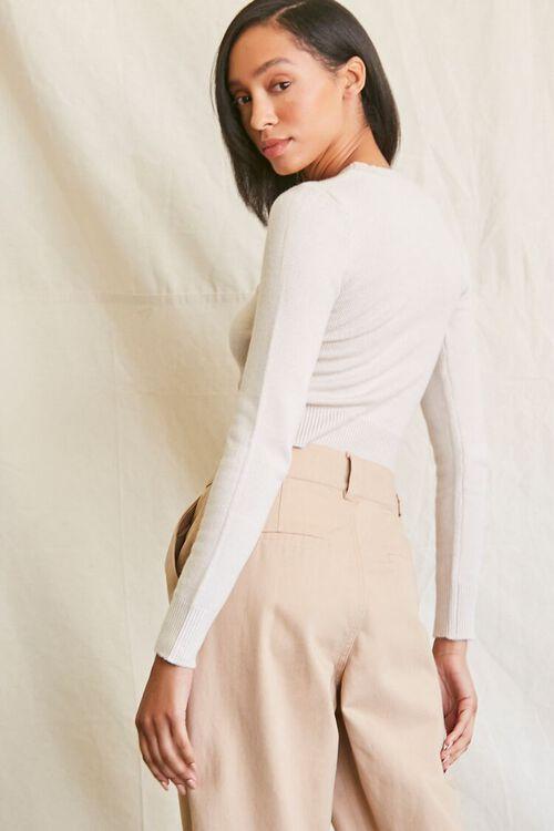 Sweater-Knit Asymmetrical Top, image 3