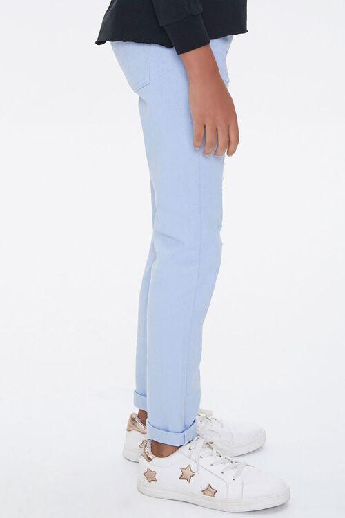 Girls Distressed Cuffed Pants (Kids), image 3