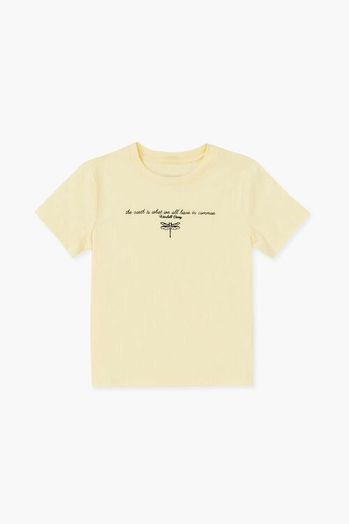 Girls Dragonfly Graphic Tee (Kids), image 1