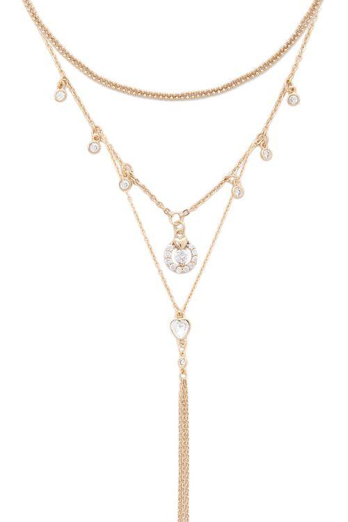 Rhinestone Necklace Set, image 1