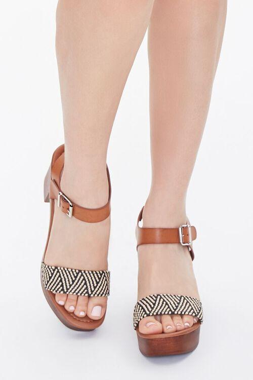 Faux Wooden Block Heels, image 4